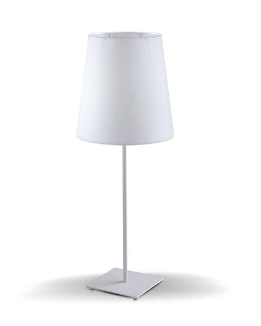 ERMES Tischlampe 1XE27 - Bijela