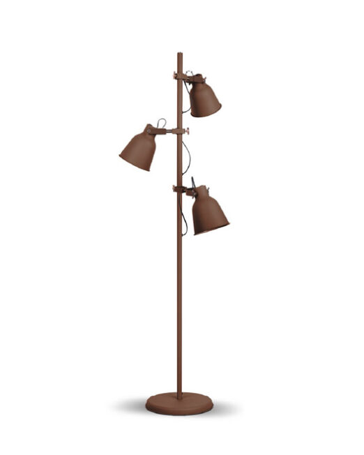LENNON Stehlampe 3XE27 BRONZEFARBIG