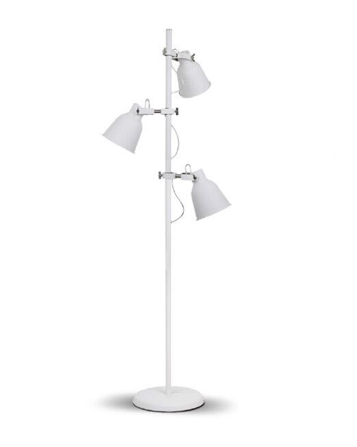 LENNON Stehlampe 3XE27 WEISS