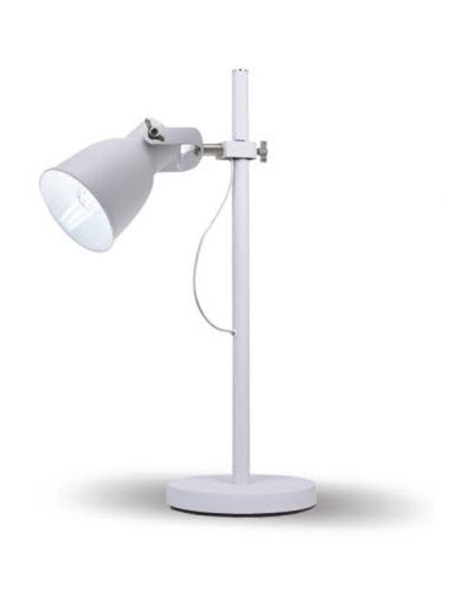 LENNON Tischlampe 1XE27 WEISS