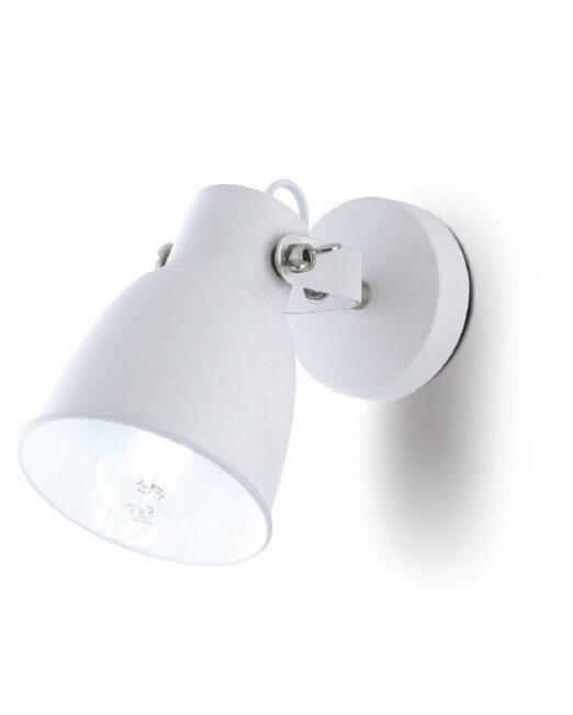 LENNON WALL LAMP 1XE27 WEISS