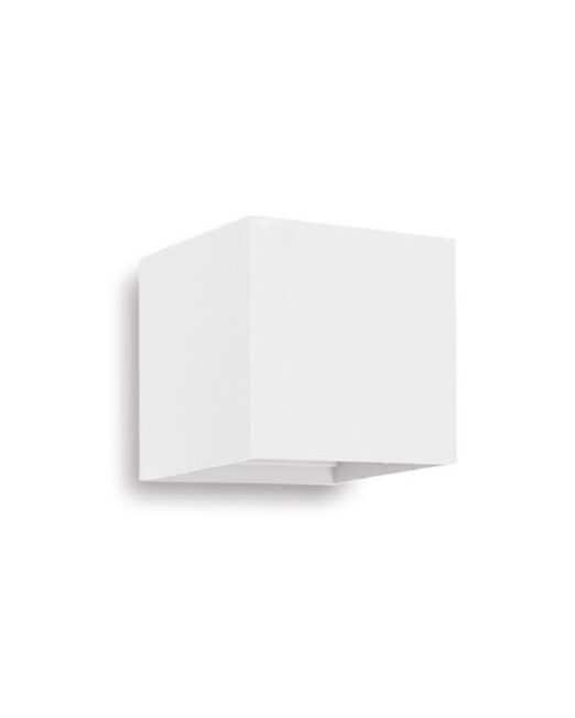 ZIDNA LAMPA WQ1110 6W 4000K WH SQUARE